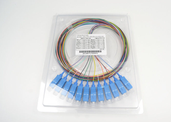 Fiber Optic Singlemode 9/125 simple SC/UPC optical Pigtail Tedarikçi
