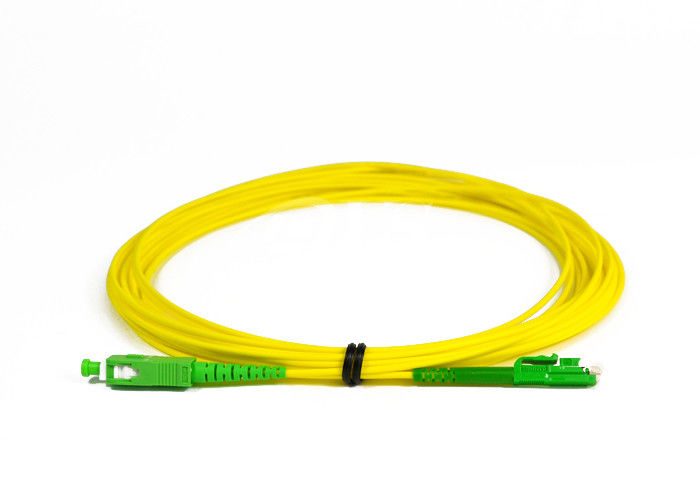 Çin SC / APC -LX.5 / APC Simplex Fiber Optic Patch Cord for Access Network Tedarikçi