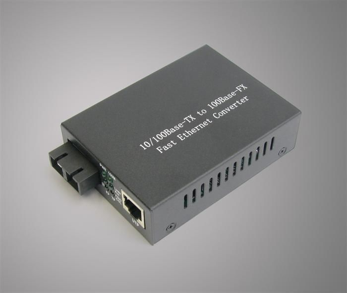 Çin 1310nm Multimode Power Optical Fiber Media Converter For Optical Network Tedarikçi
