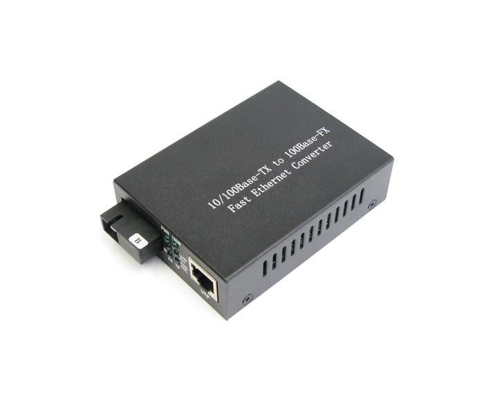Çin 1550nm 10 / 100M Single Mode Optical Fiber Media Converter 20km Tedarikçi
